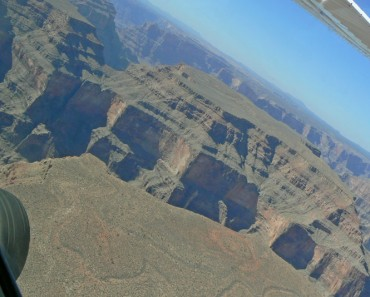 Grand Canyon viewed from the air