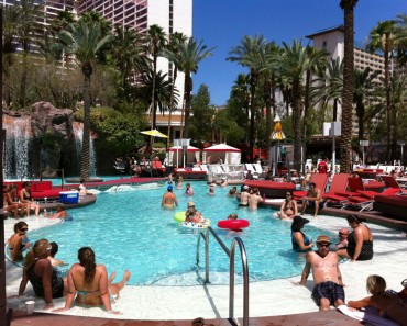 Flamingo pool vegas