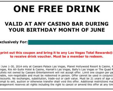 Free Vegas Drink